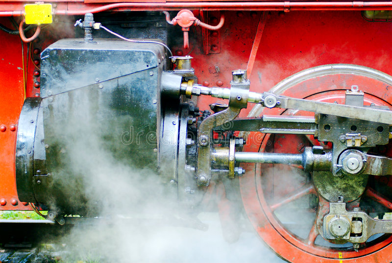 Steam Engine stock photography