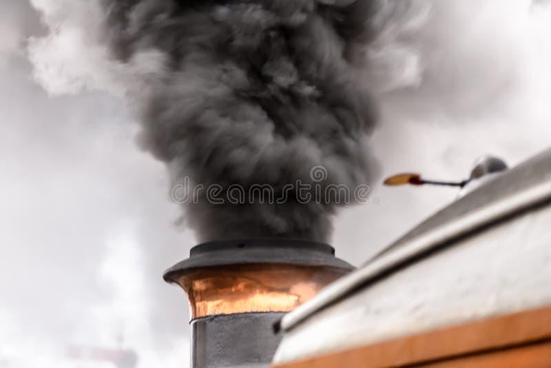 Steam engine detail stock image