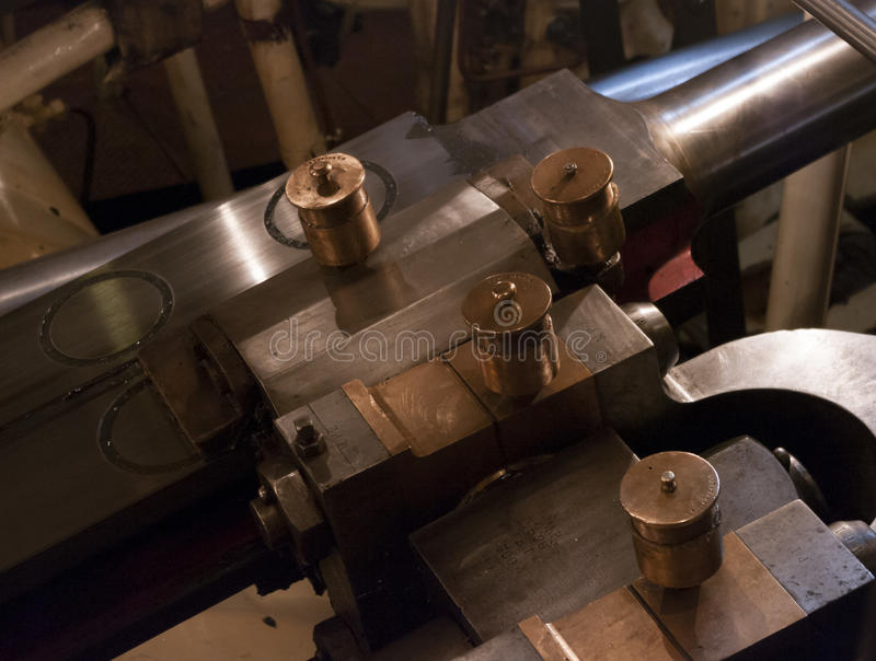 Steam engine machinery royalty free stock images