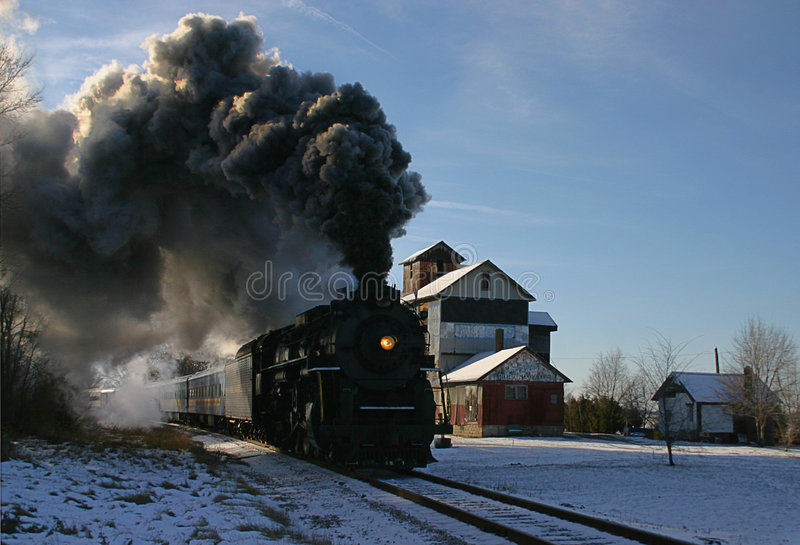 Steam Engine Train stock photography