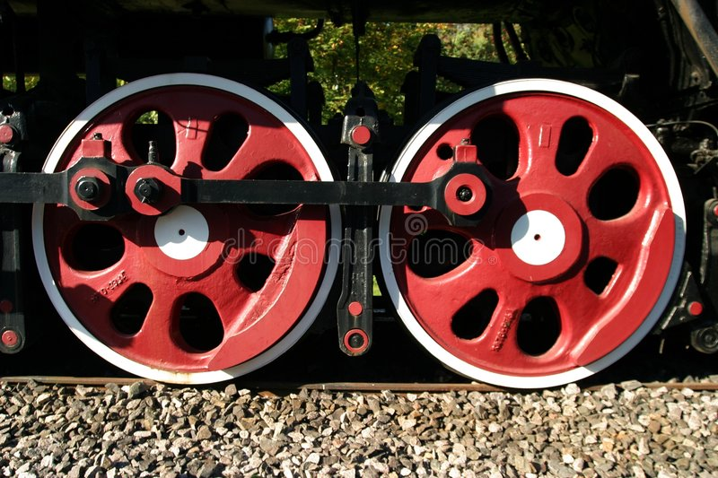 Download Steam Engine Wheels Royalty Free Stock Photography - Image: 1416257