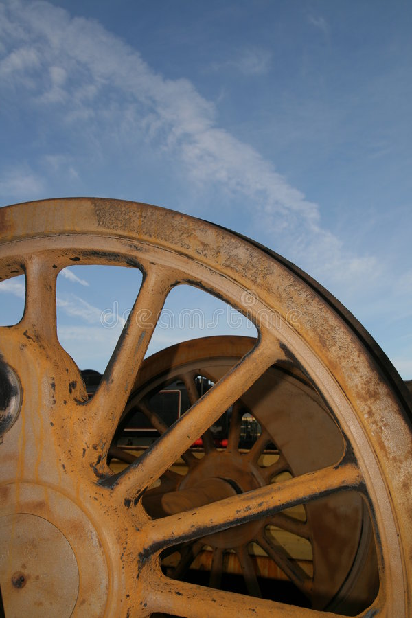 Free Steam Engine Wheels Royalty Free Stock Image - 1788586