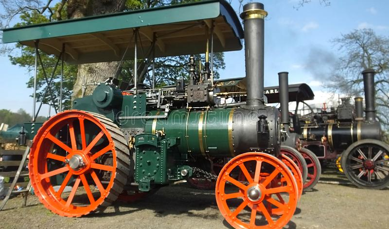 Shanes Castle May Day Steam Rally Estate Antrim stock image