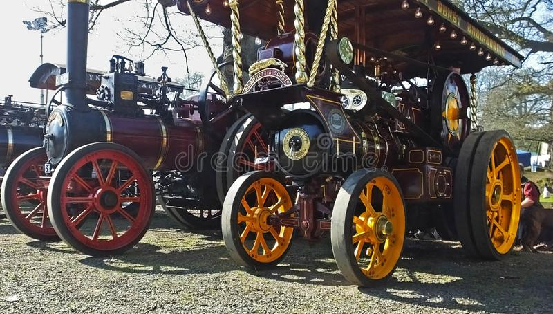 Shanes Castle May Day Steam Rally Estate Antrim. Shanes Castle May Day Steam Rally Antrim royalty free stock image