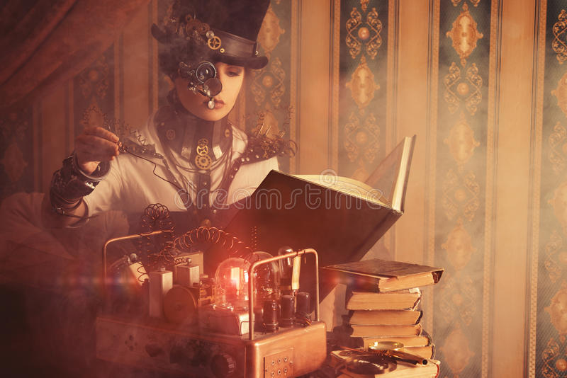 Download Steam experiments stock photo. Image of music, old, fashion - 32165976