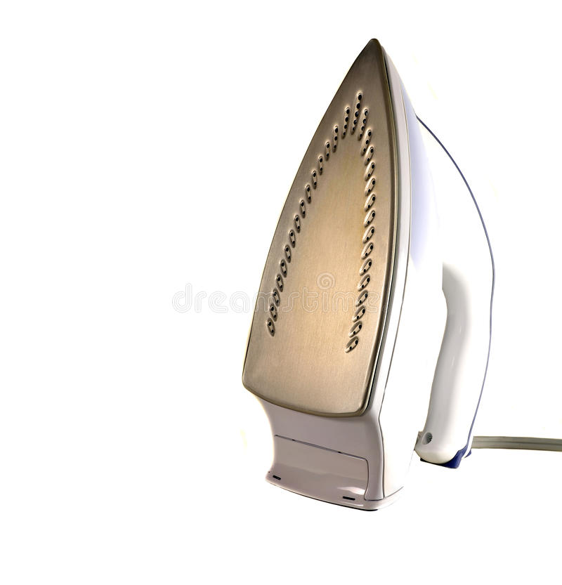 Download Steam Iron stock photo. Image of household, isolated - 24814820