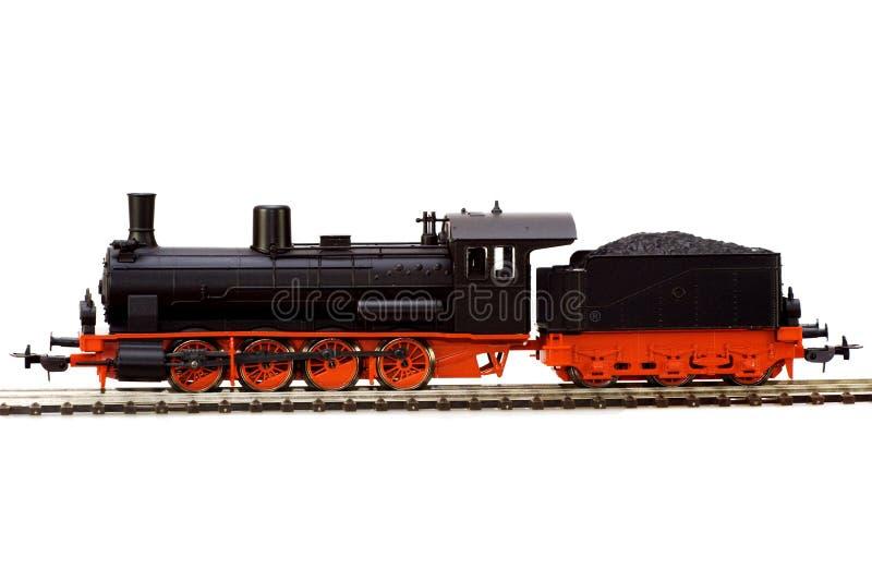 Steam loco model royalty free stock photo