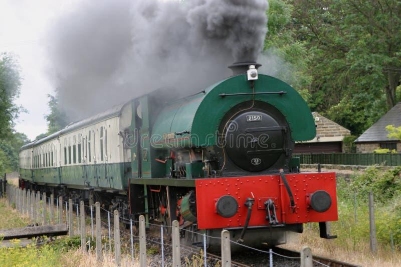 Download Steam Locomotive 2150 At Elsecar Stock Photo - Image of train, smoke: 1822528