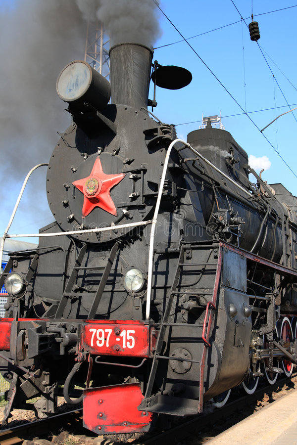 Download Steam locomotive stock photo. Image of obsolete, station - 3214522