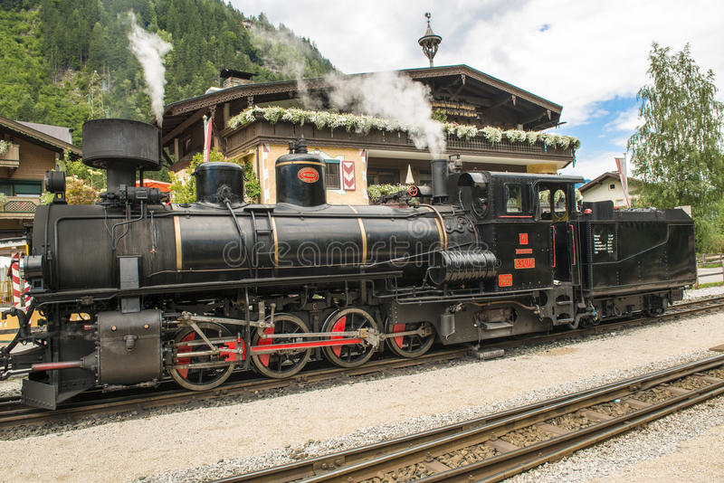 Download Steam Engine In Austria - Zillertal-Bahn Editorial Image - Image of beautiful, shine: 33079210