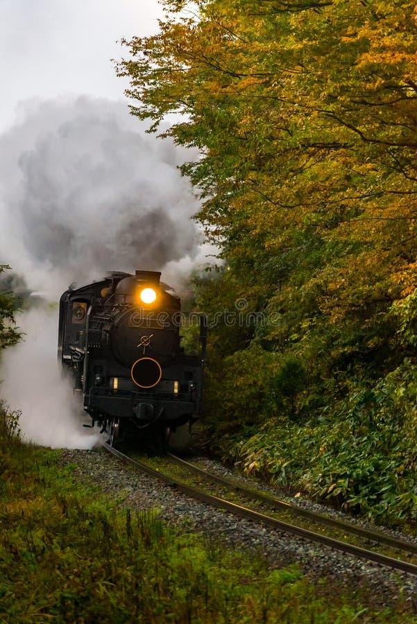 Steam locomotive Fukushima Japan stock photography