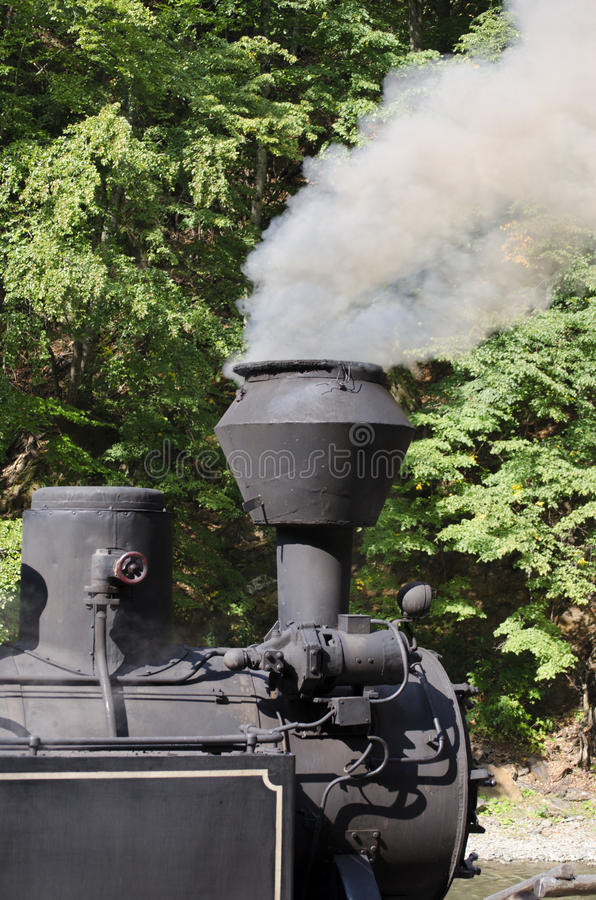 Download Steam Locomotive Detail stock photo. Image of track, pull - 33600076