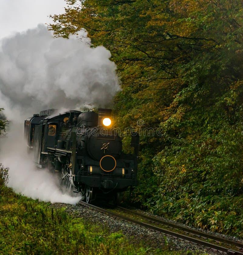Steam locomotive Fukushima Japan royalty free stock photo