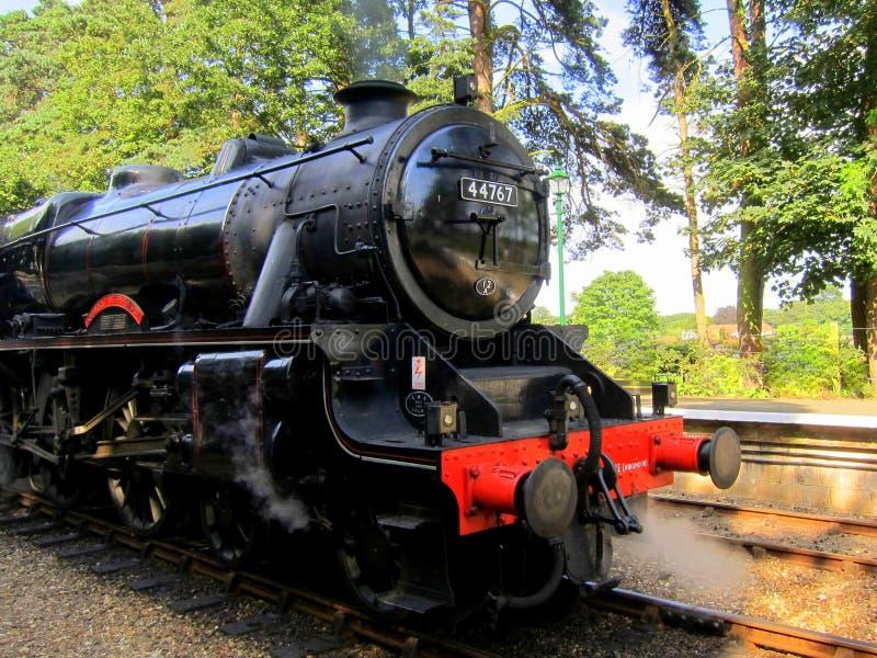 Steam Train George Stephenson stock images