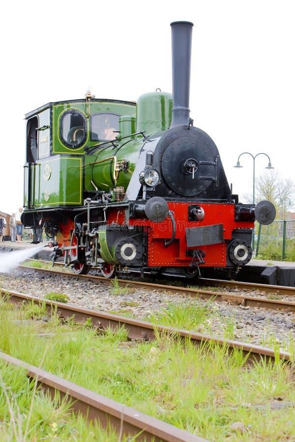 Steam locomotive, Hoorn - Medemblik, Noord Holland, Netherlands royalty free stock photography