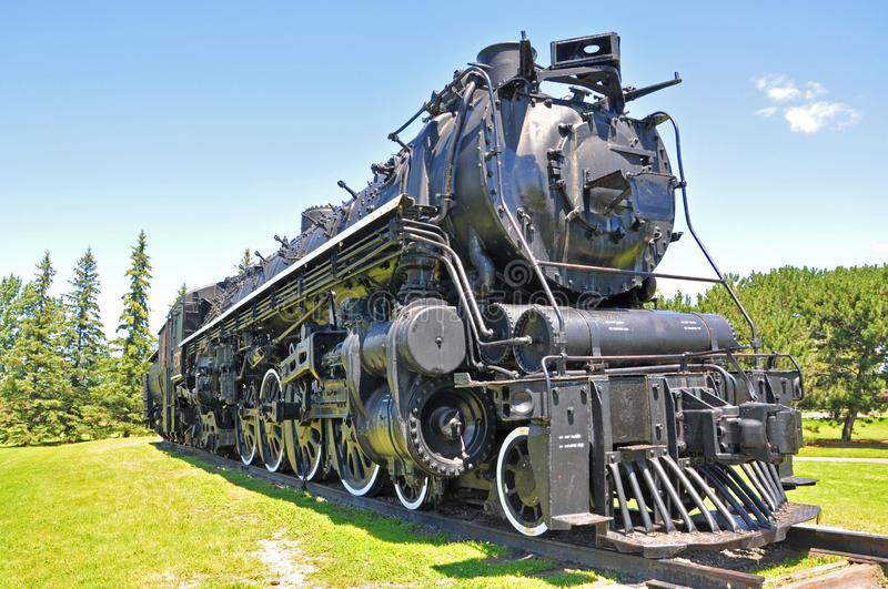 Steam locomotive, Ottawa, Canada royalty free stock images