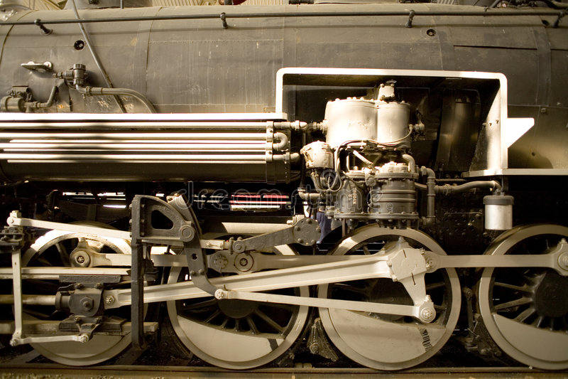 Download Steam locomotive wheels stock image. Image of activity - 1794795
