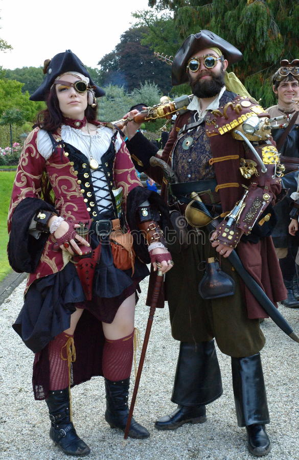 Steam punk royalty free stock images
