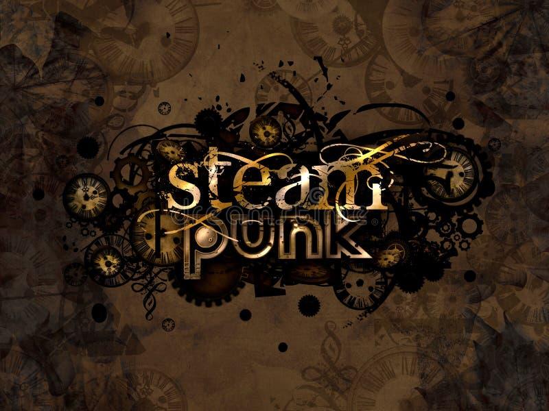 Download Steam Punk Logo Background Illustration Stock Illustration - Illustration: 27963326