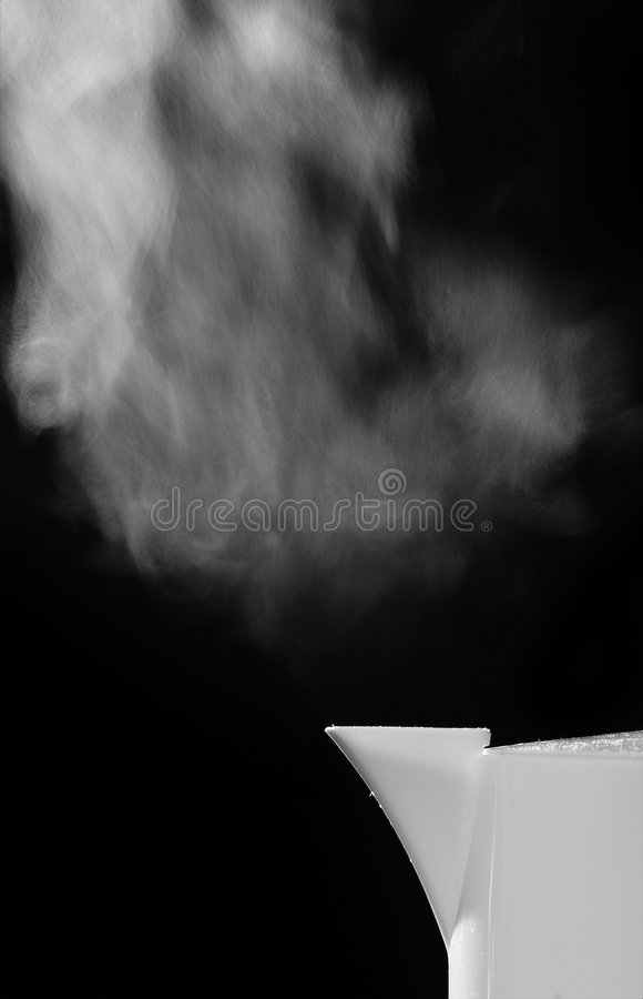 Steam Rising Royalty Free Stock Photos