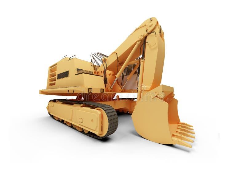 Download Steam shovel bulldozer stock illustration. Image of dredger - 7278007