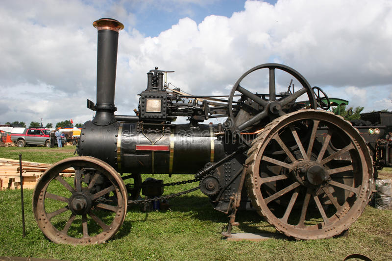 Download Steam traction engine stock image. Image of farming, traction - 11977713