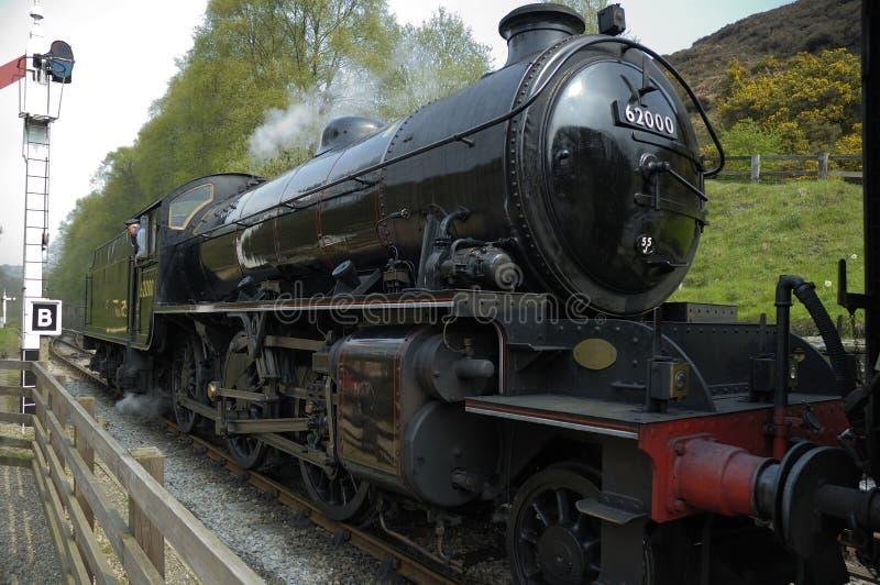 Steam Train. Transport, Photo Taken at Goathland Station. Camera Nikon D70 stock images
