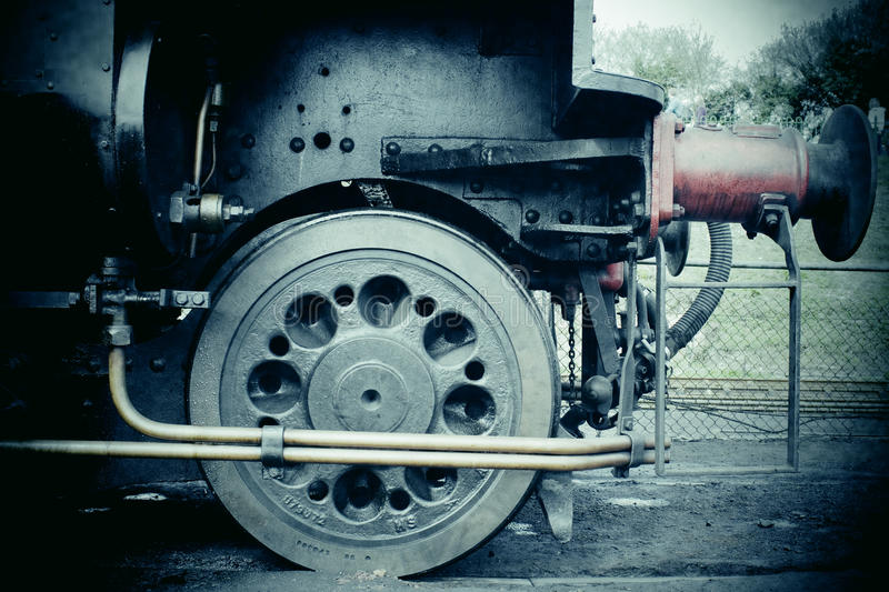 Download Steam train stock image. Image of industrial, retro, locomotive - 26612517