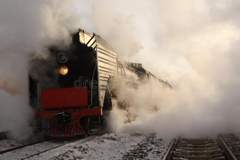 Steam train stock images