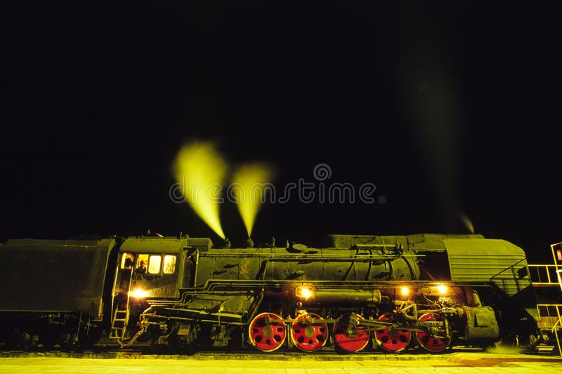 Download Steam train stock image. Image of engine, station, rails - 5932169