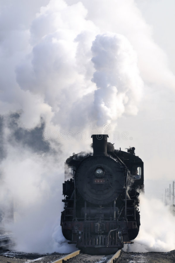 Free Steam Train Stock Photography - 9108892