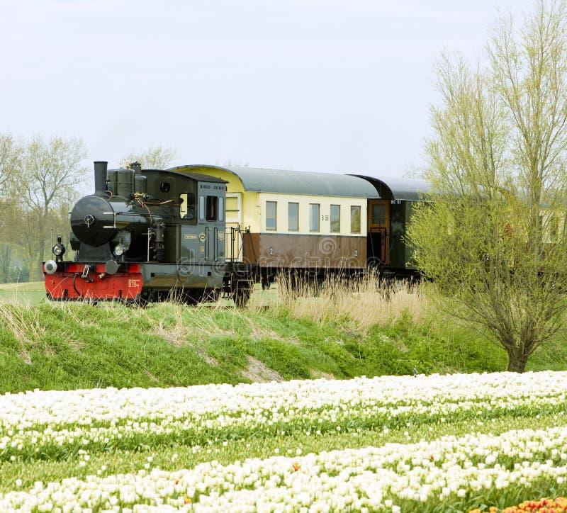 Steam train, Hoorn - Medemblik, Noord Holland, Netherlands stock photos