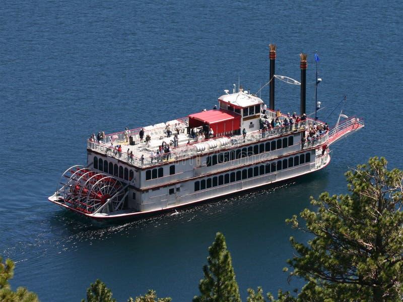 steamboat royaltyfri foto