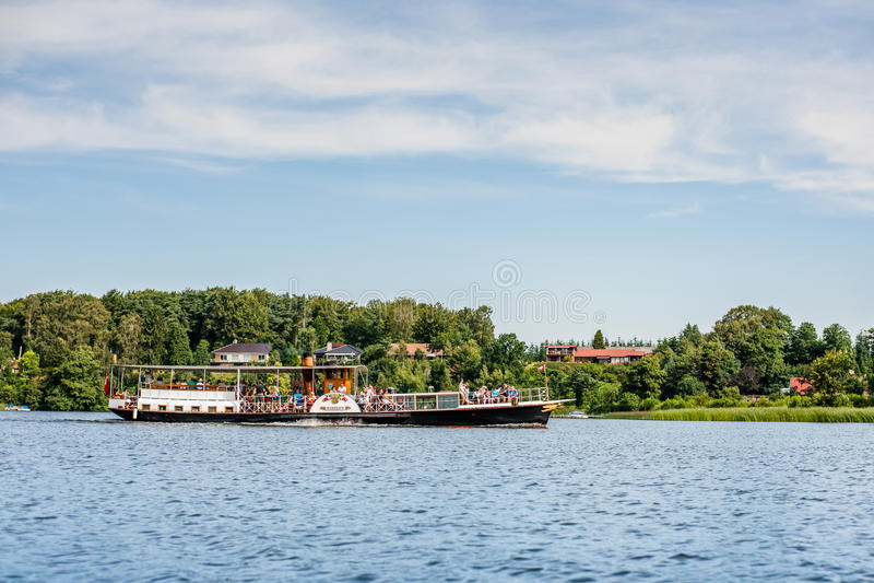 steamboat royalty-vrije stock foto's