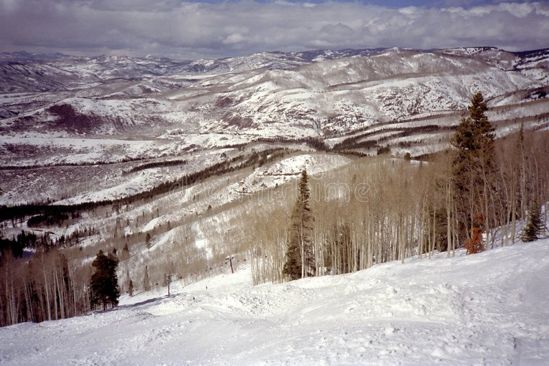 Download Steamboat Montagna-Colorado Fotografia Stock - Immagine di inverno, bianco: 3148788