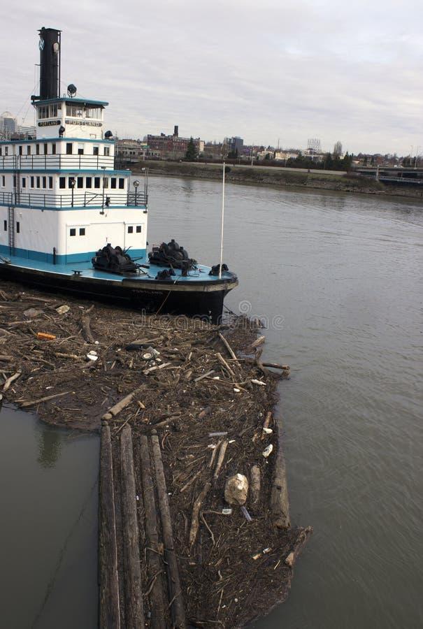 steamboat portland стоковая фотография rf