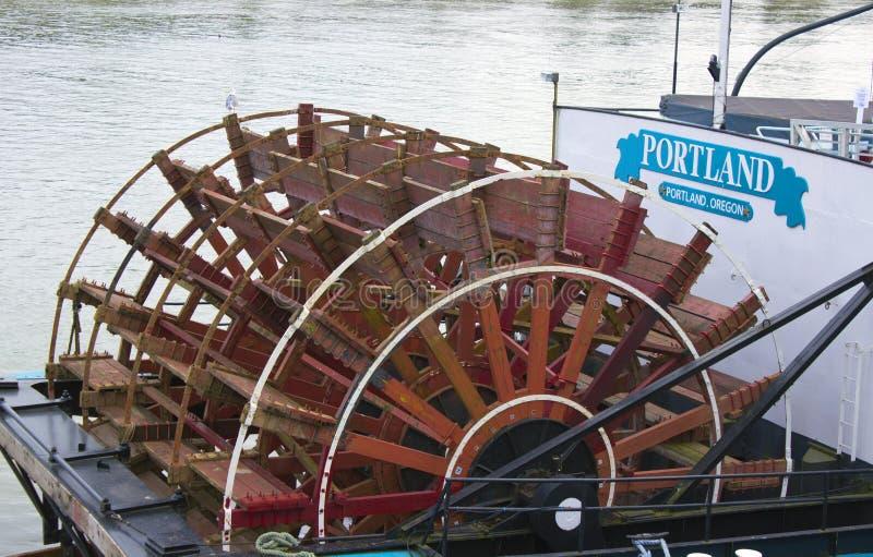 steamboat portland стоковые изображения