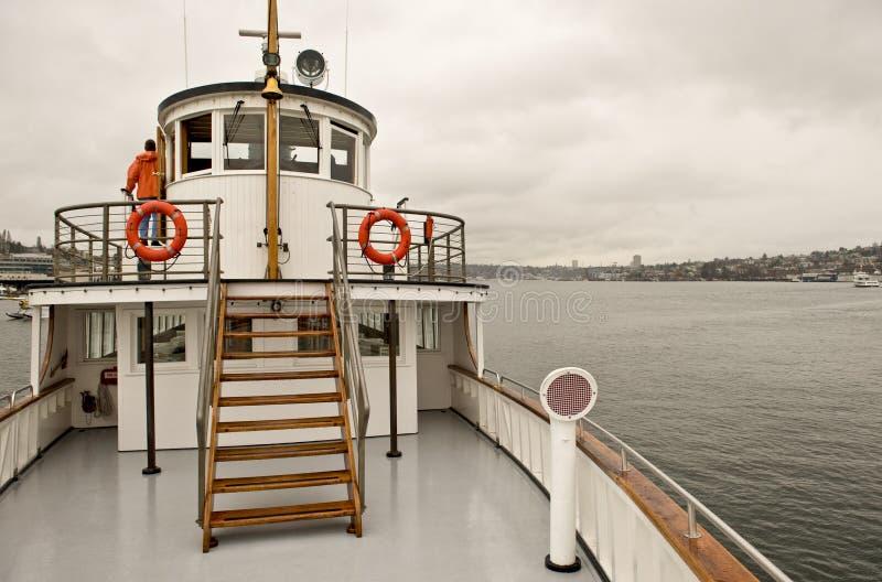Steamboat restaurado velho fotos de stock royalty free