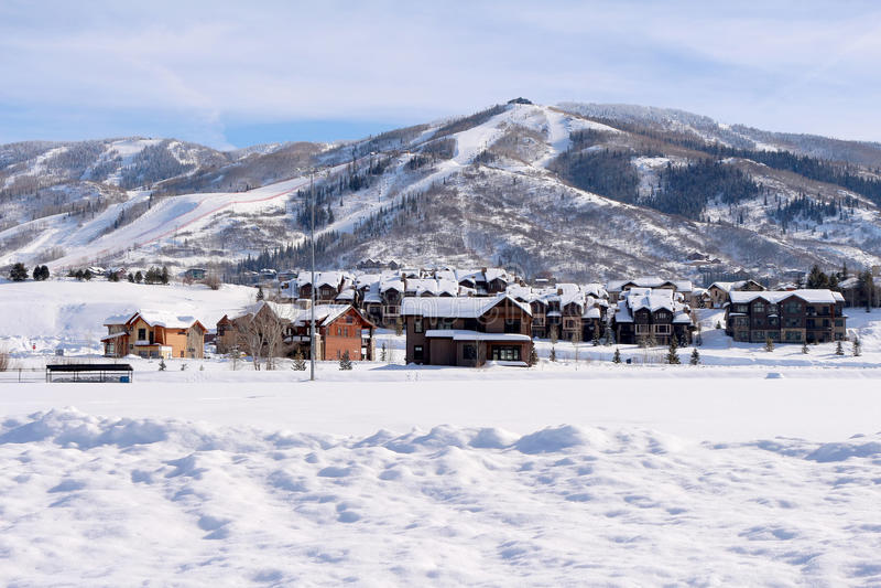 Steamboat Springs, Colorado fotografie stock