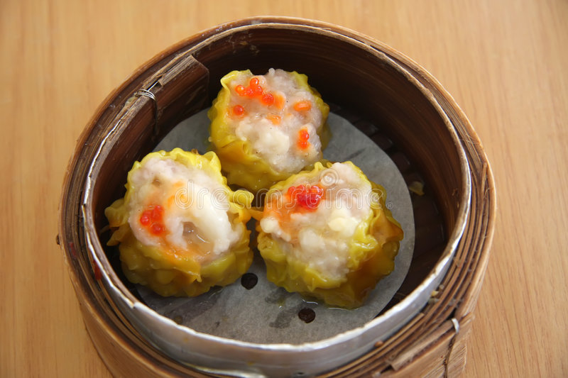 Steamed Dimsum Royalty Free Stock Photos