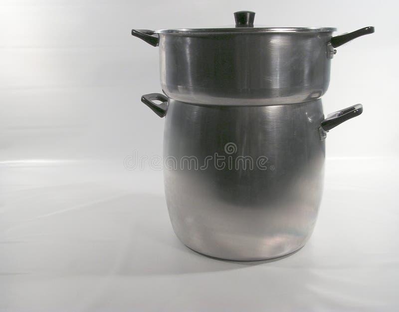steamer för couscousmaträttpanna royaltyfria foton