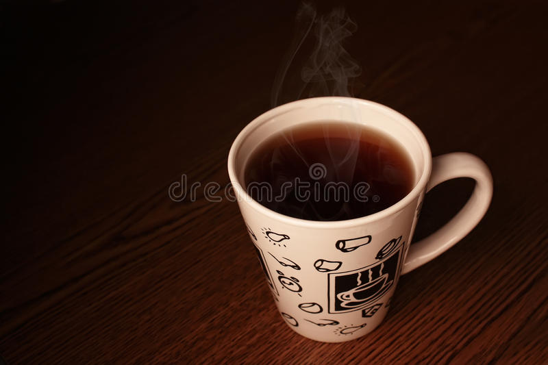 Download Steaming white cup stock image. Image of india, brown - 20413507