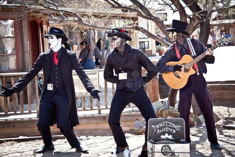 steampunk нот группы стоковые фото