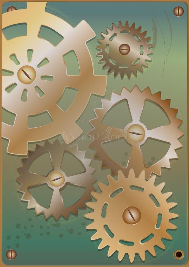 Steampunk Шестерни бесплатная иллюстрация