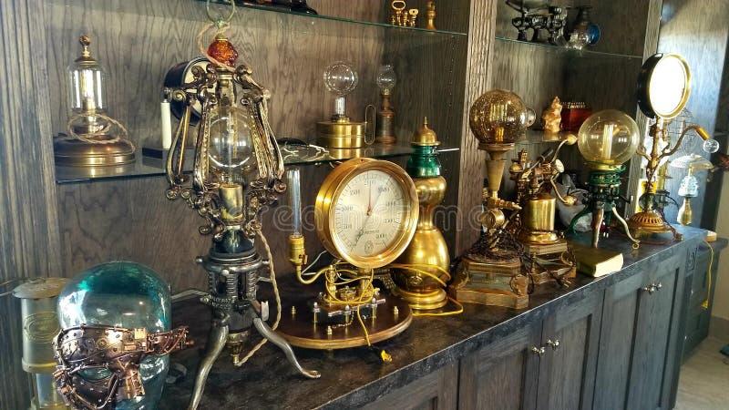Steampunk imagem de stock