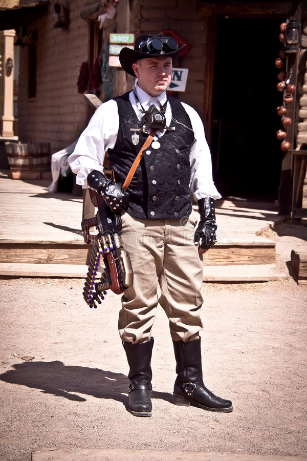 Steampunk Editorial Photography