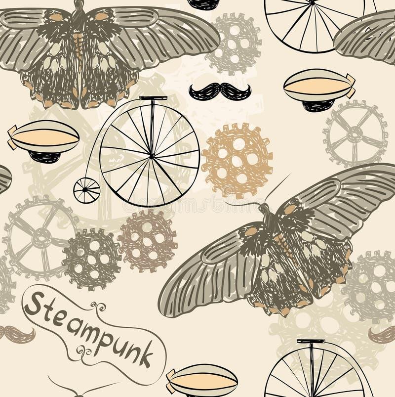 Steampunk stock illustratie