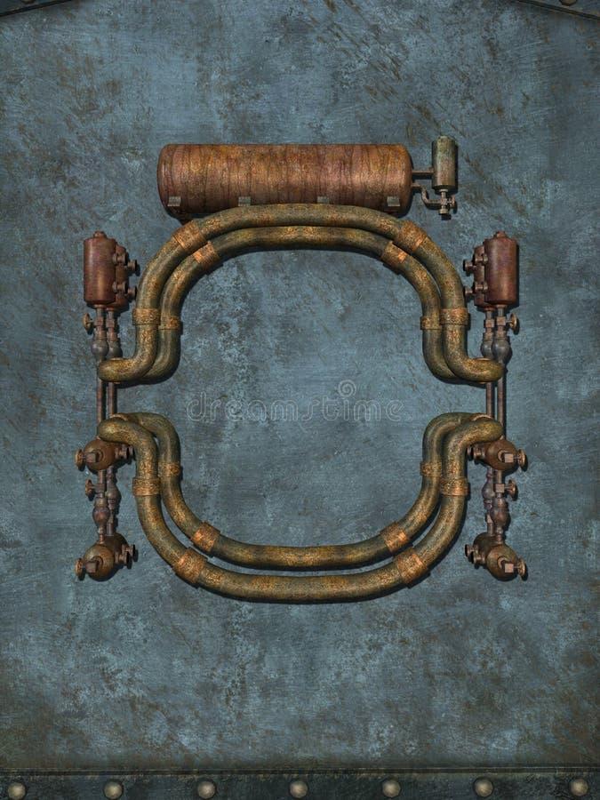Steampunk illustration libre de droits