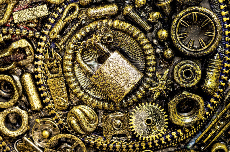 Steampunk Stock Image. Image Of Background, Crafts, Paint