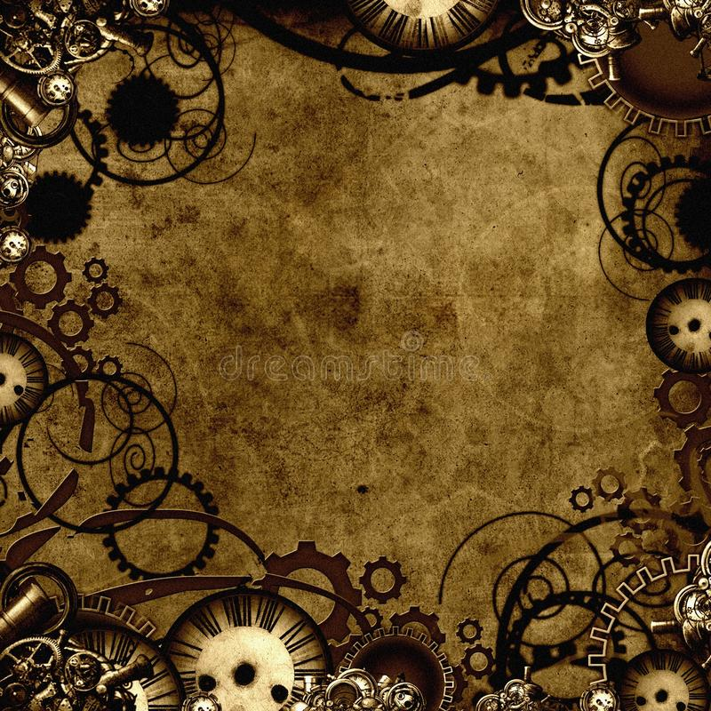 Download Steampunk Background Texture Stock Illustration - Illustration: 23784228
